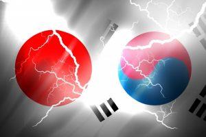 日本と韓国の葛藤