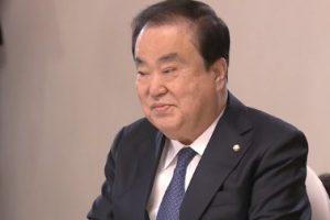 韓国の文喜相・韓国国会議長