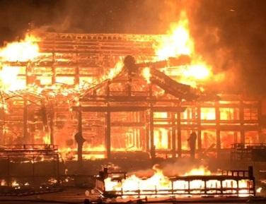 首里城火災